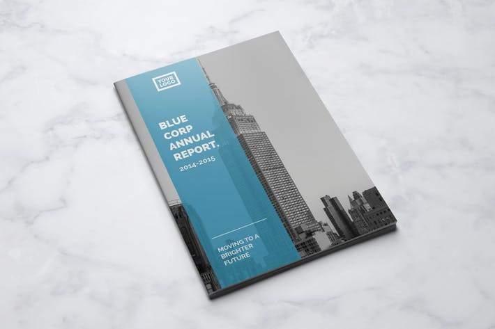 Cover Image For Blue Annual Report