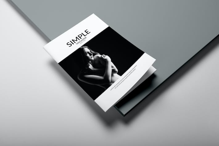 Thumbnail for Simple Magazine Template