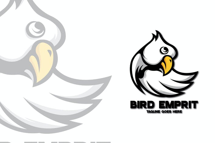 Thumbnail for BIRD MASCOT LOGO TEMPLATE