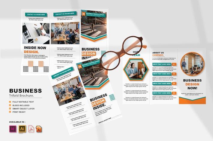 Thumbnail for Inside Trifold Brochure