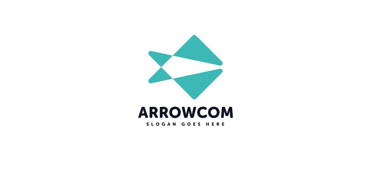 Download Arrow Com Logo Vector Template by Pixasquare