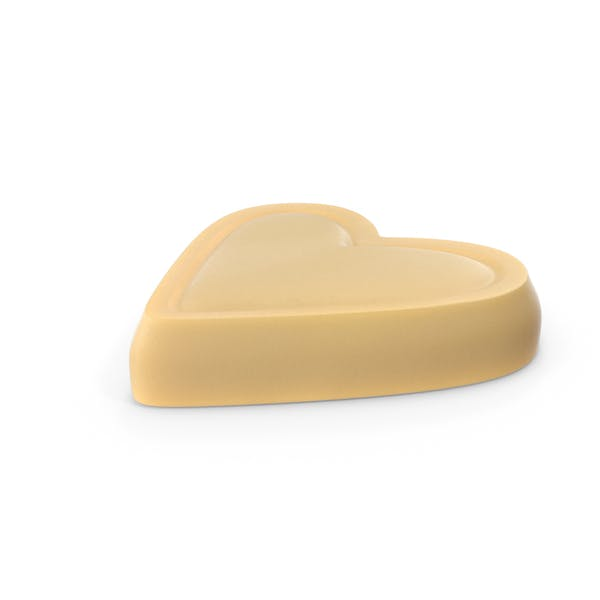 Heart White Chocolate Candy