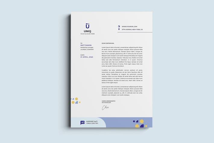 Corporate, Business Letterhead & Invoice