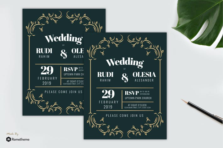 Thumbnail for Wedding Invitation vol. 03
