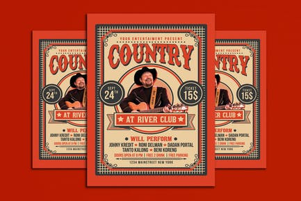 Country Music Flyer