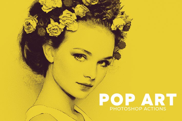Thumbnail for Pop Art Photoshop Actions