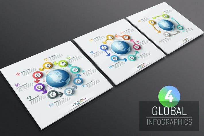 Thumbnail for 4 Globale Infografiken