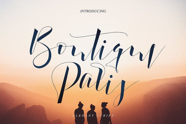 Thumbnail for Boutique Paris - Modern Script