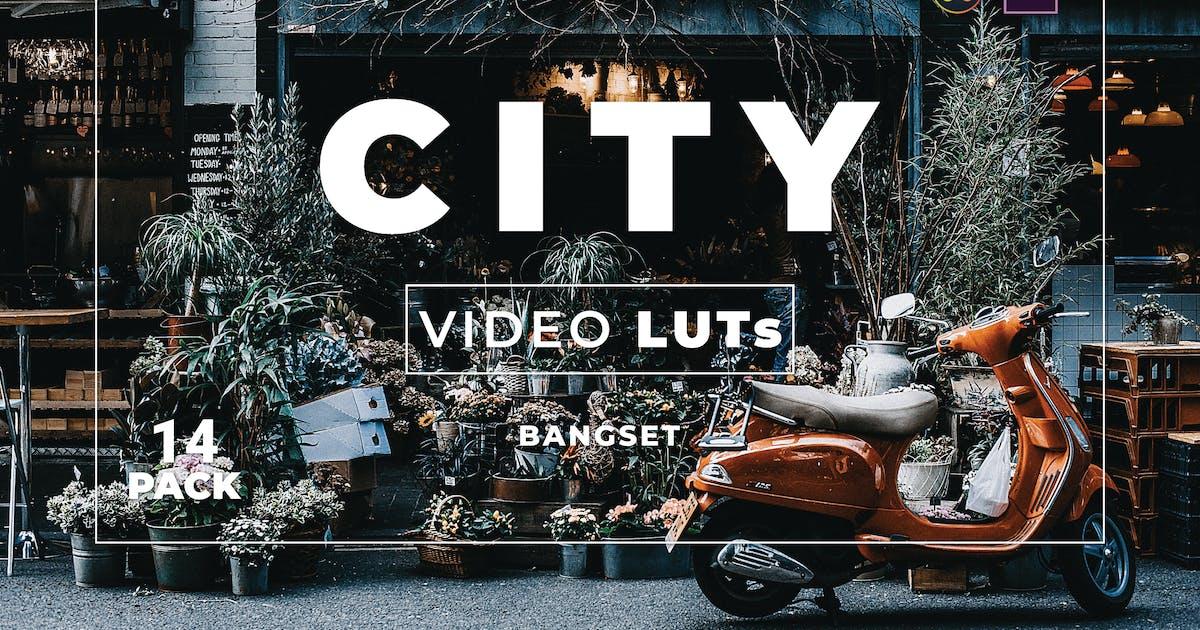 Download Bangset City Pack 14 Video LUTs by Bangset
