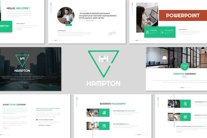 Hampton - Многоцелевой Шаблон Powerpoint