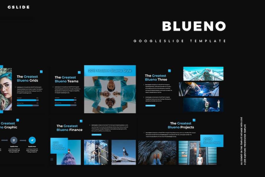 Blueno - Google Slides Template