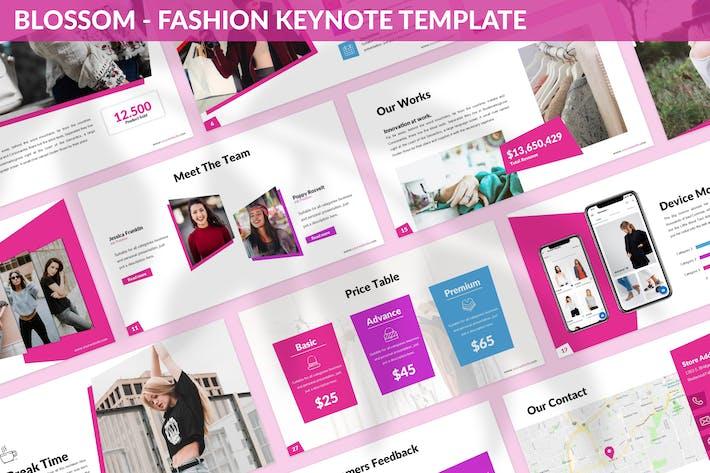 Blossom - Fashion Keynote Template