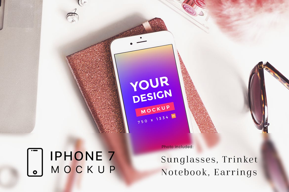 Workspace-with-iPhone-7-Mockup