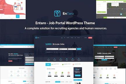 Entaro - Job Portal WordPress Theme
