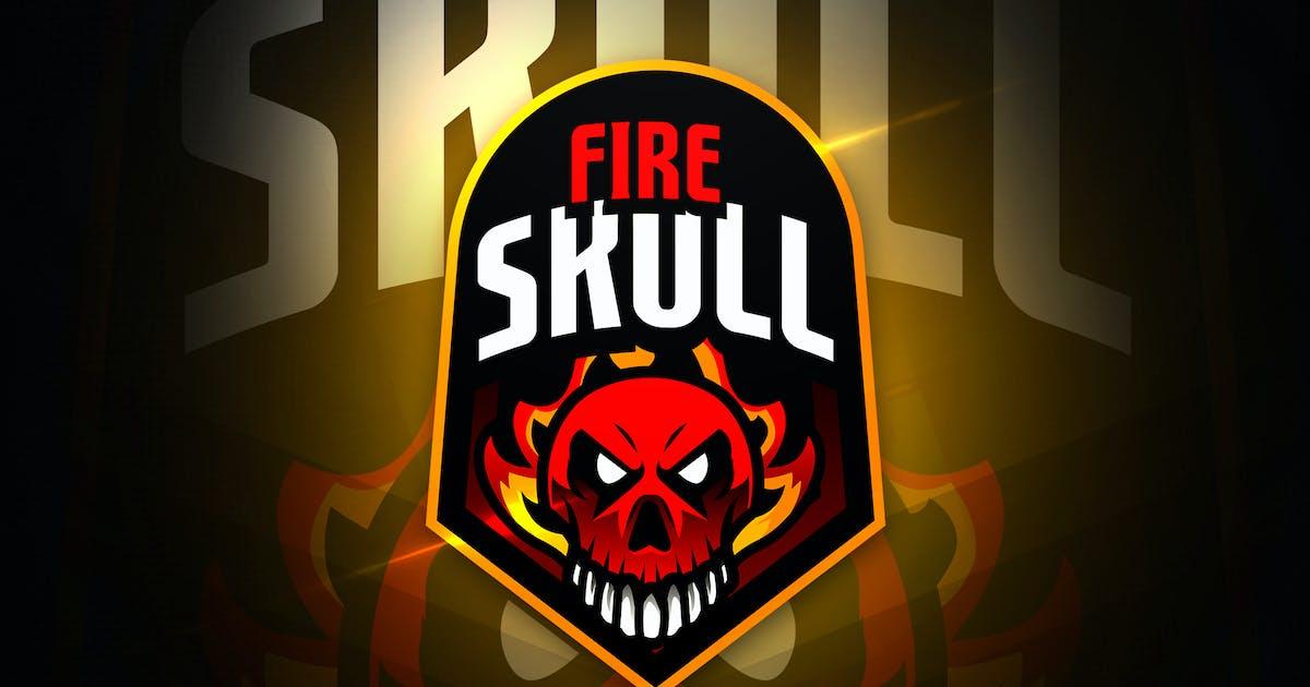 Download Skullfire - Mascot & Esport Logo by aqrstudio