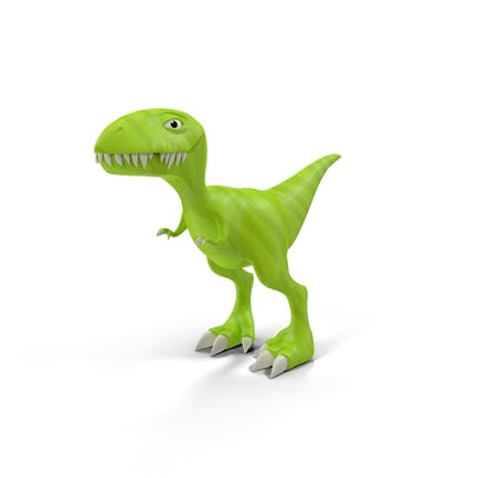 Cartoon Dinosaurier