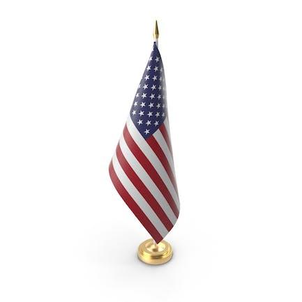 Настольный флаг США