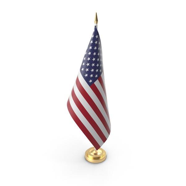 Table Flag USA