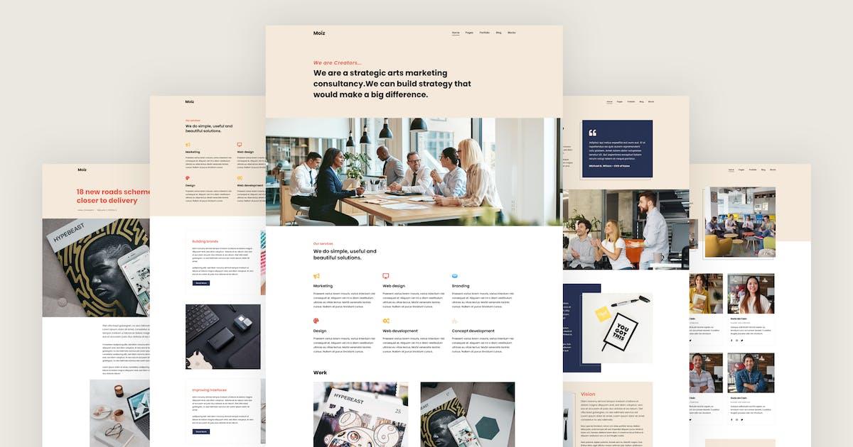 Download Moiz - Digital Marketing Agency HTML Template by energeticthemes