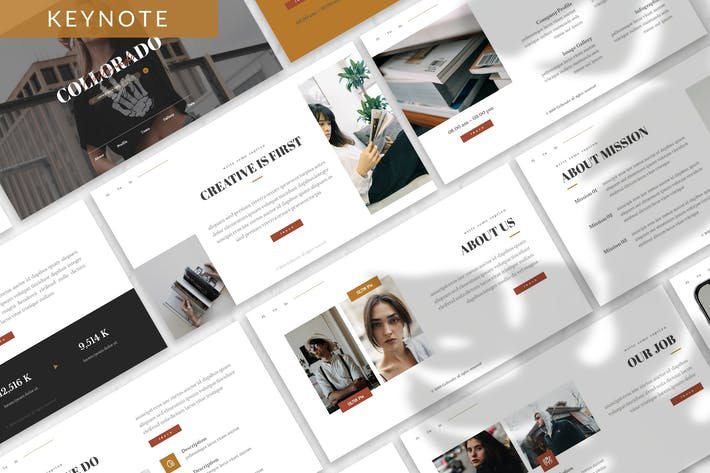 Thumbnail for Collorado - Business Keynote Template