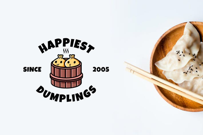 Thumbnail for Happy Dumpling - Mascot & Esport Logo