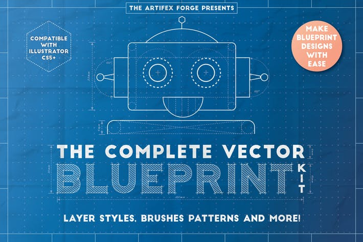 Thumbnail for The Complete Vector Blueprint Kit