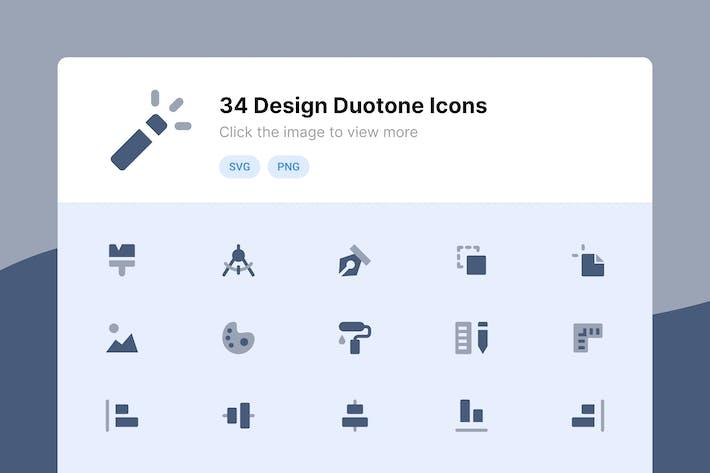Design Duotone Icons