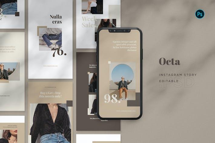 Thumbnail for Octa Instagram Stories BL