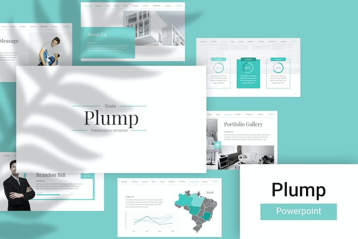 Thumbnail for Plum Powerpoint