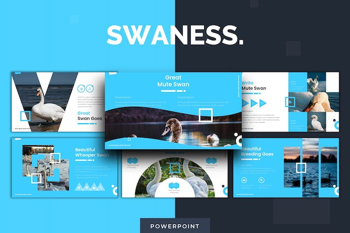 Thumbnail for Swaness - Powerpoint Template