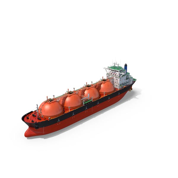 Cover Image for Gas Carrier Ship