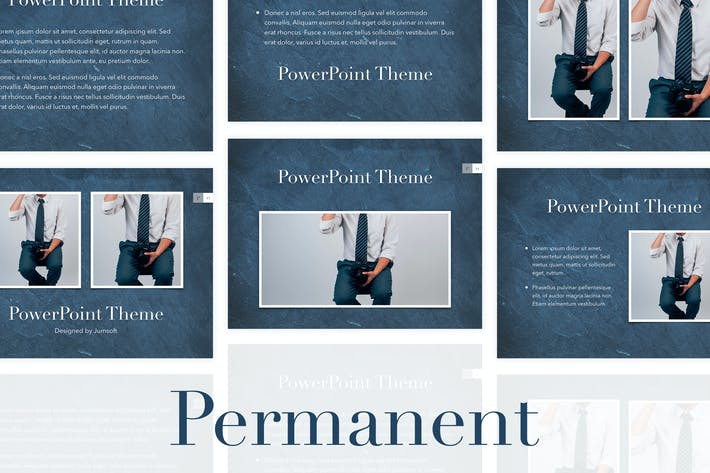 Thumbnail for Permanent PowerPoint Template