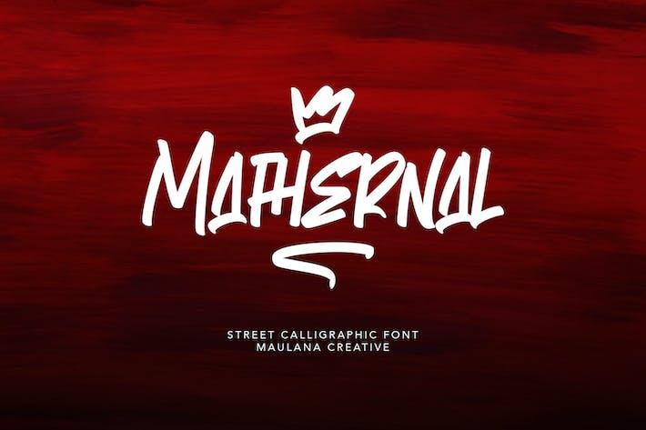 Thumbnail for Police calligraphique de Mathernal Street
