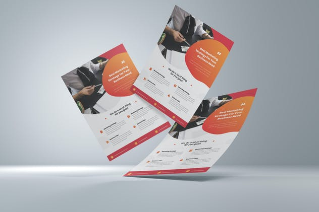 Marketing Strategy Flyer
