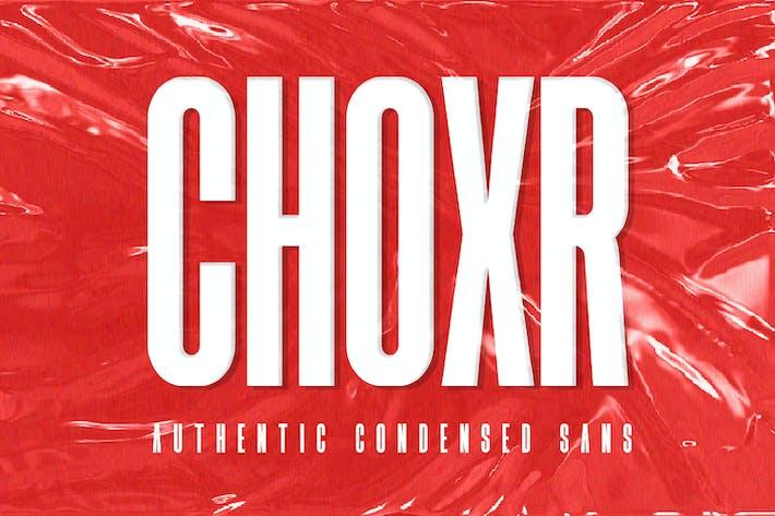 Thumbnail for CHOXR - Authentic Condensed Sans