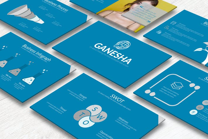 Thumbnail for Ganesha Keynote Template