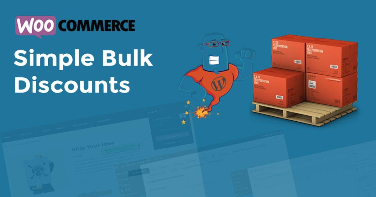 Download WooCommerce Simple Bulk Discounts by wpgenie