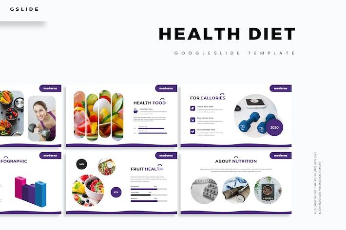 Thumbnail for Health Diet - Google Slides Template