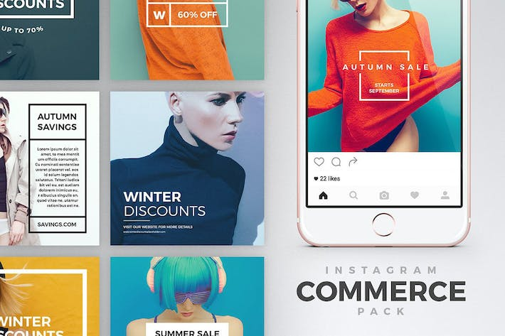 Thumbnail for Instagram Commerce Pack