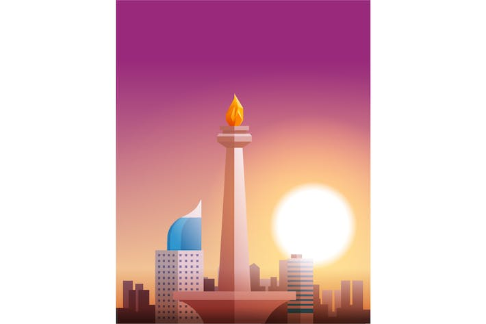 Cover Image For monas indonesia