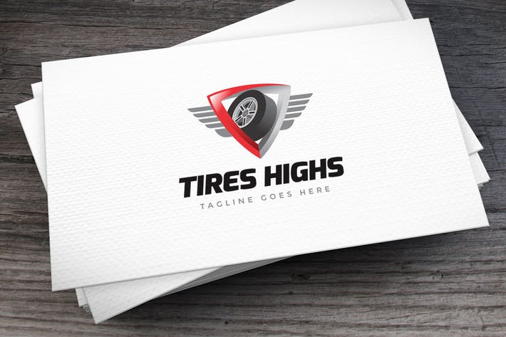 Thumbnail for Tires Highs Logo Template