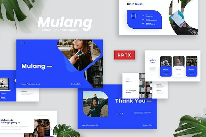 Thumbnail for Mulang - Course Presentation Template