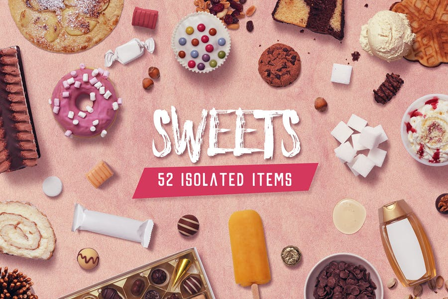 Kitchen Scene Gen. - Sweets