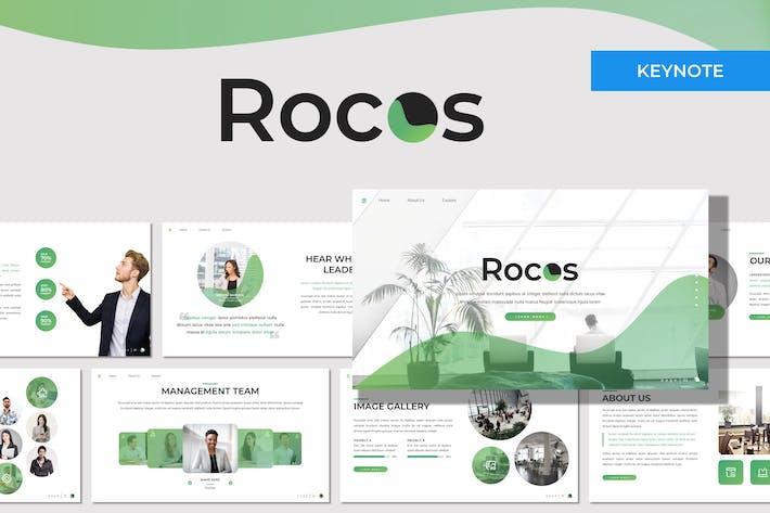 Rocos - Многоцелевой Шаблон Keynote