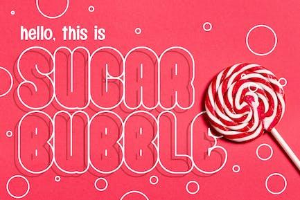 Sugar Bubble - Playful Typeface