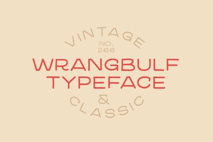 Thumbnail for Wrangbulf tipo de letra