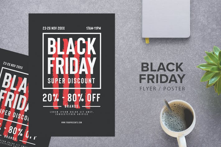 Cover Image For Black Friday Flyer
