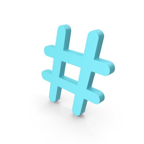 Hashtag Blue