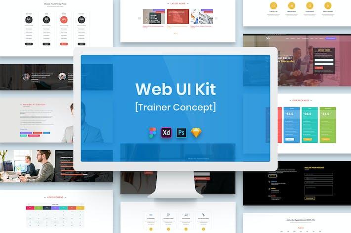 Thumbnail for Trainer Web UI Kit-02