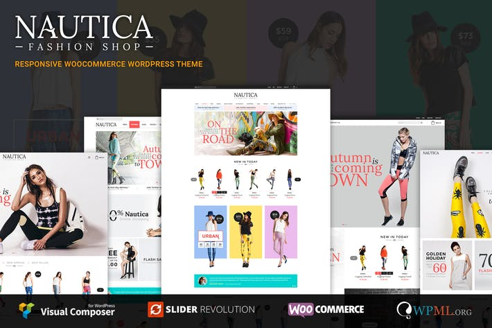 Thumbnail for Nautica | Responsive WooCommerce WordPress Theme